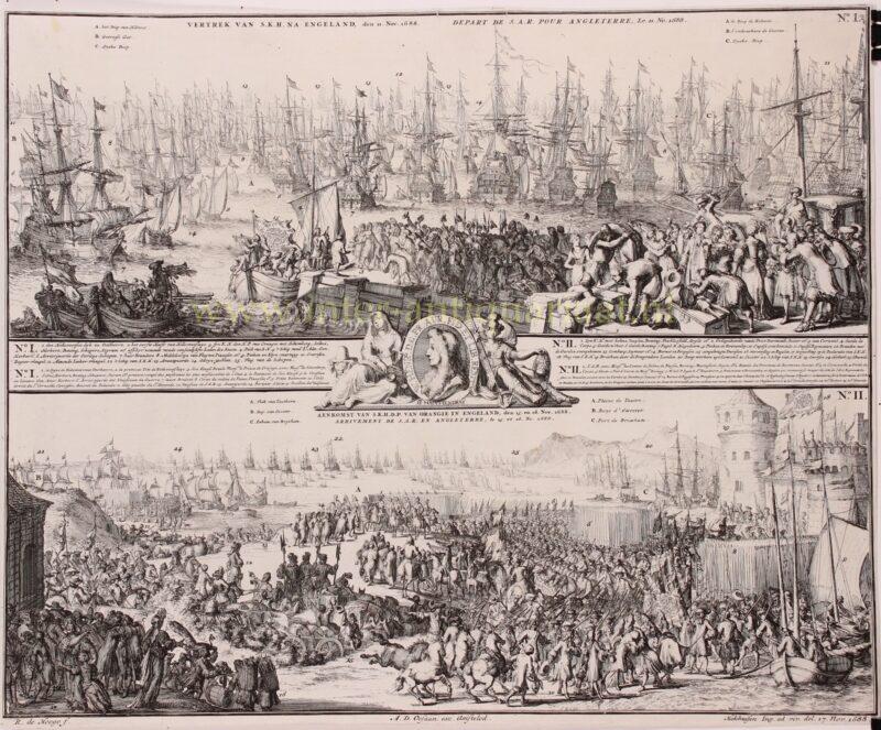 Glorious Revolution – Romeijn de Hooghe, 1688