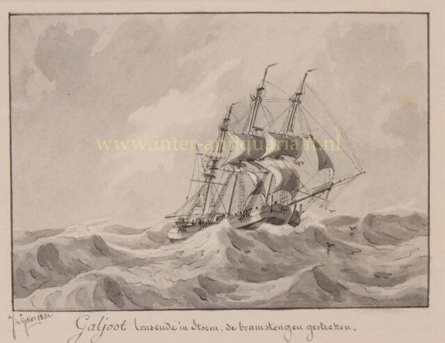 19de-eeuwse galjoot