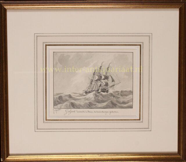 19e-eeuwse galjoot