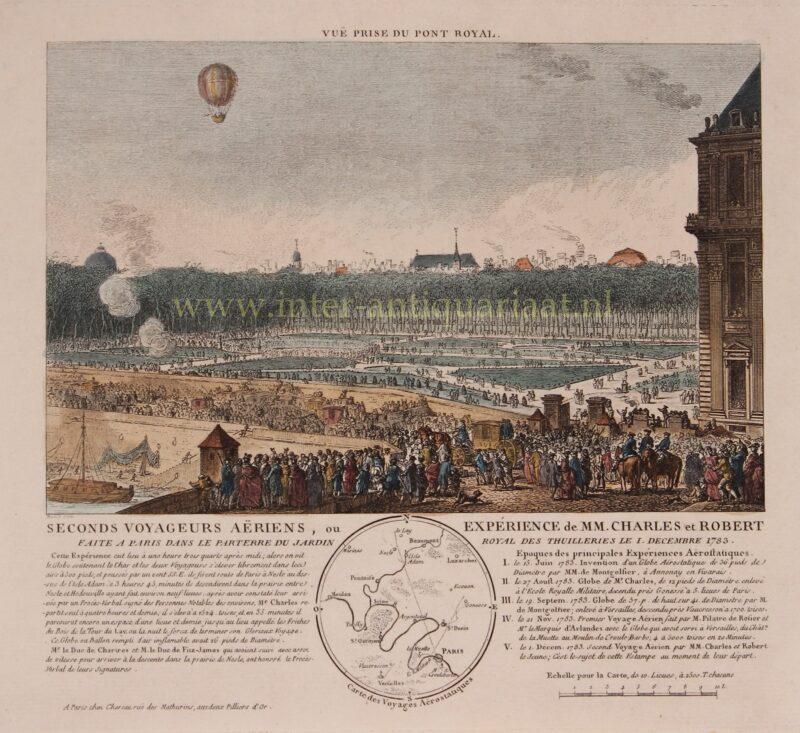 Balloon history – Benoit-Louis Prevost, 1783