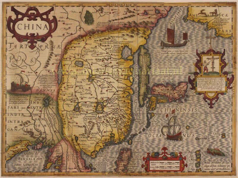 China, Korea, Japan – Mercator/Hondius, 1633