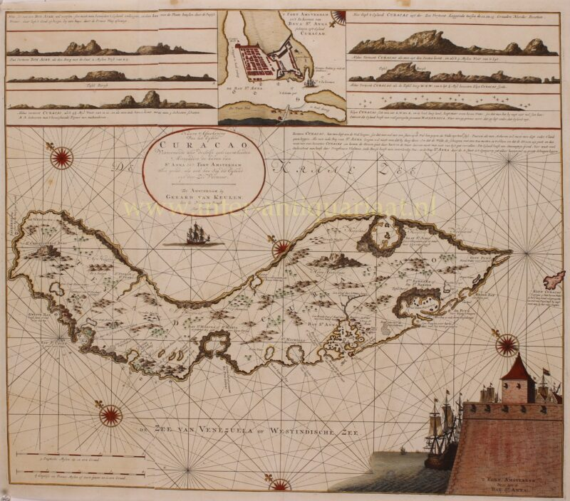 Curaçao – Gerard van Keulen, 1715-1720