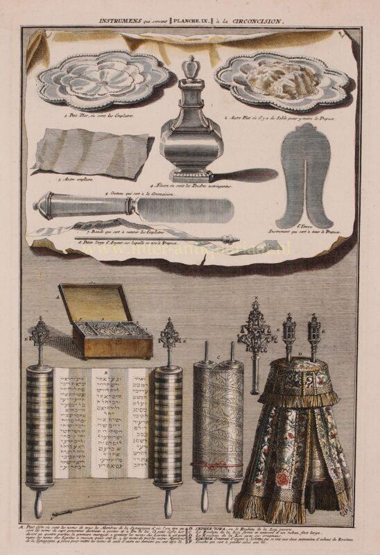 Jewish circumcision (brit milah) – Bernard Picard, 1725