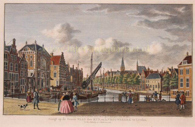 18e-eeuws Leiden