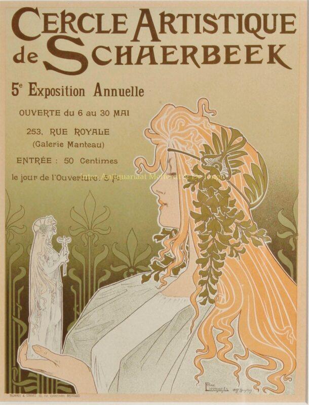 Cercle Artistique de Schaerbeek – Henri Privat-Livemont, 1895-1900