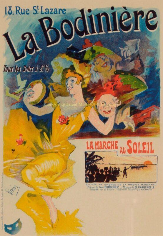 La Bodinière – Jules Chéret, 1895-1900