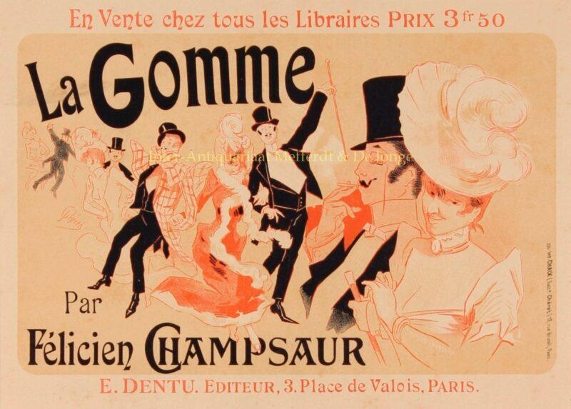 La Gomme – Jules Chéret, 1895-1900
