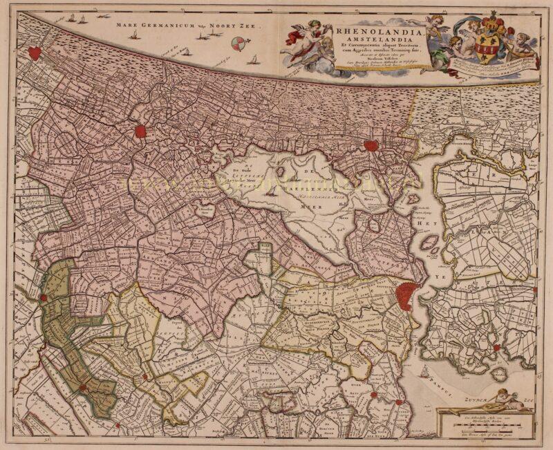 Rijnland / Amstelland – Pieter Schenk, ca. 1720
