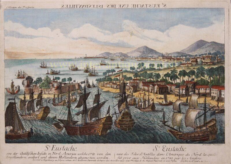 Sint Eustatius – Johann Baptist Bergmuller, 1781