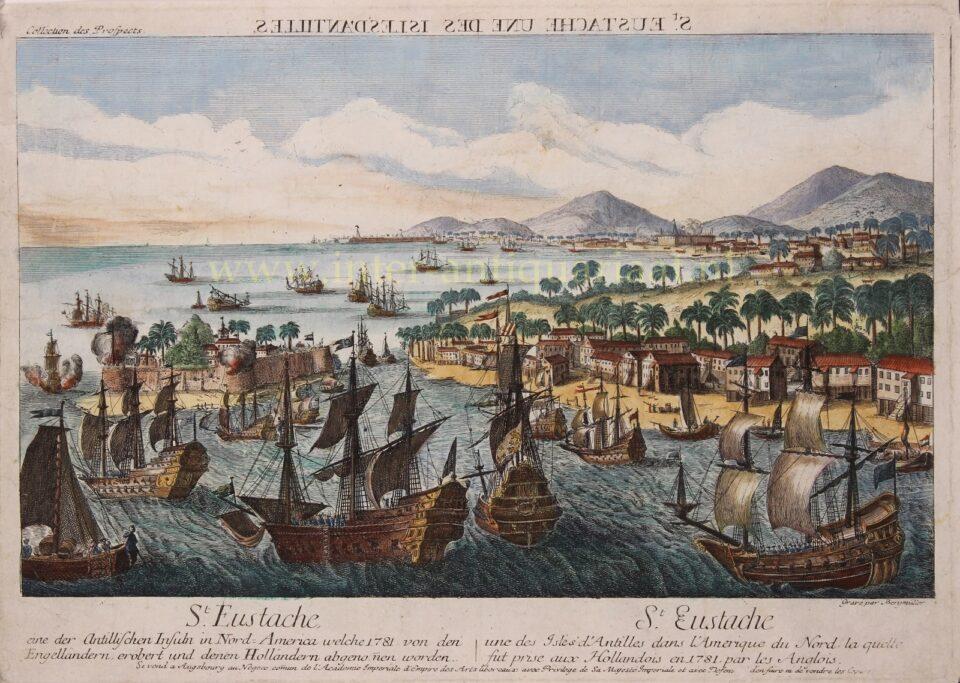 Sint Eustatius in de 18e-eeuw