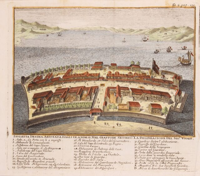 18th century Dejima