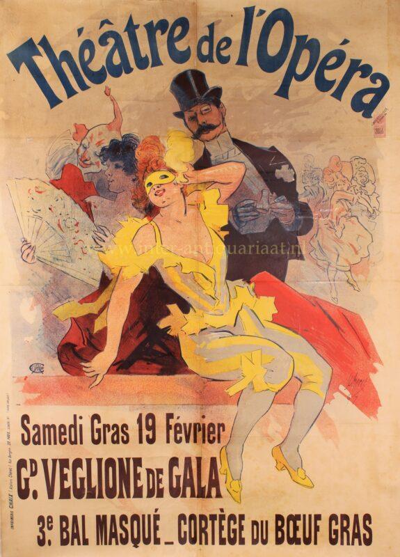 Théâtre de l'Opéra – Jules Chéret, 1897