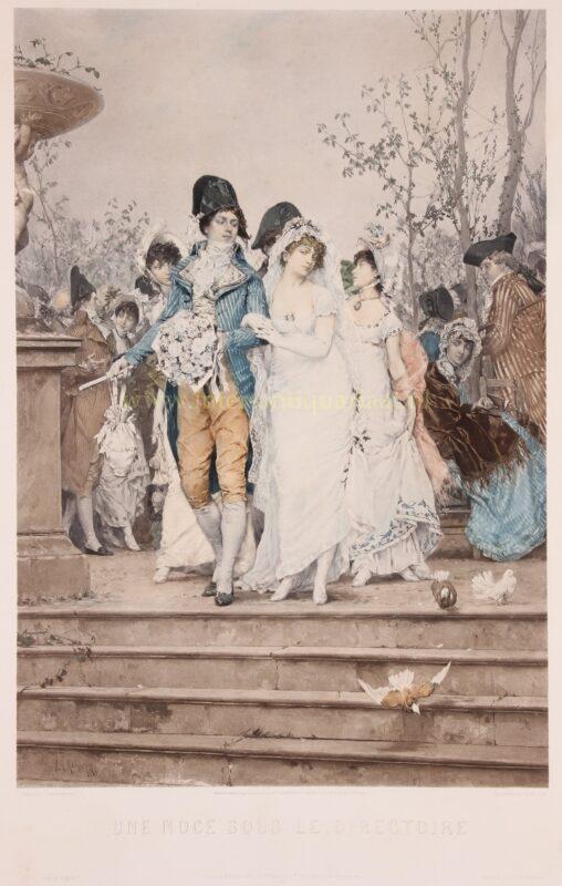 The wedding – Frederik Hendrik Kaemmerer, 1877