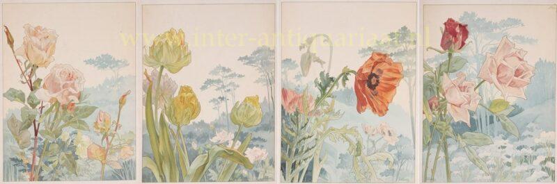 Fleurs Décoratives – Henri Privat-Livemont, ca. 1900