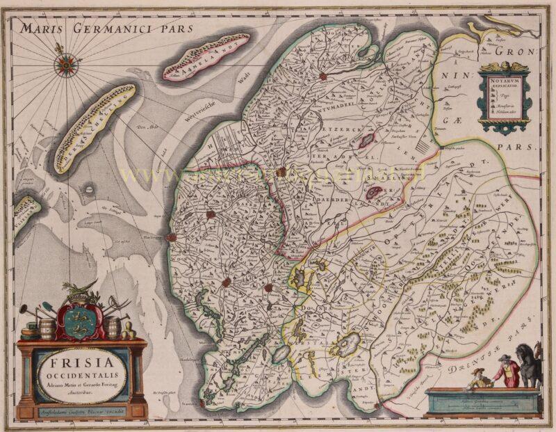 Friesland – Willem Blaeu, 1635