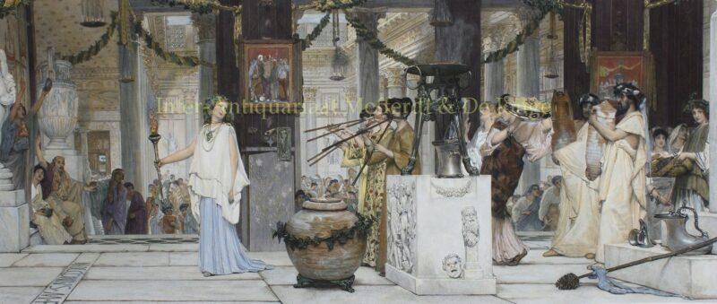The Vintage Festival – Lawrence Alma-Tadema, 1873