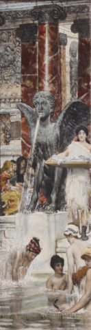 A Bath – Lawrence Alma-Tadema, 1898