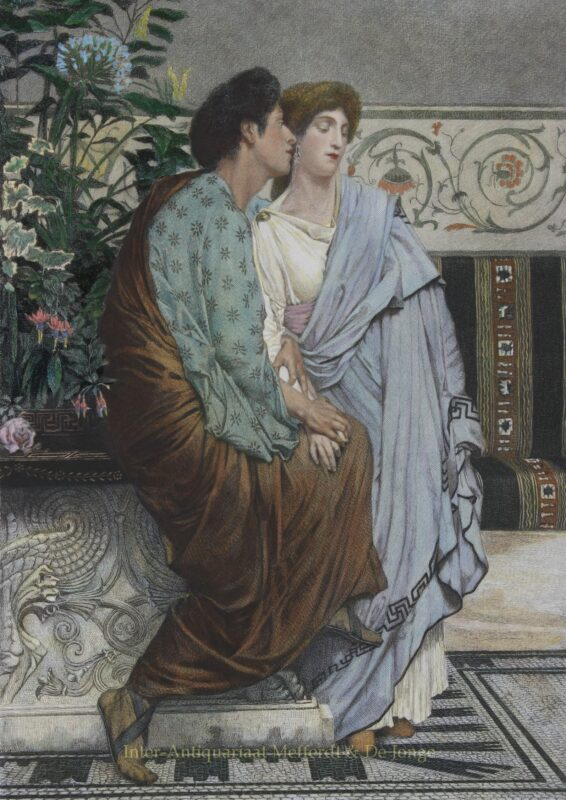 The First Whisper of Love – Lawrence Alma-Tadema, 1875