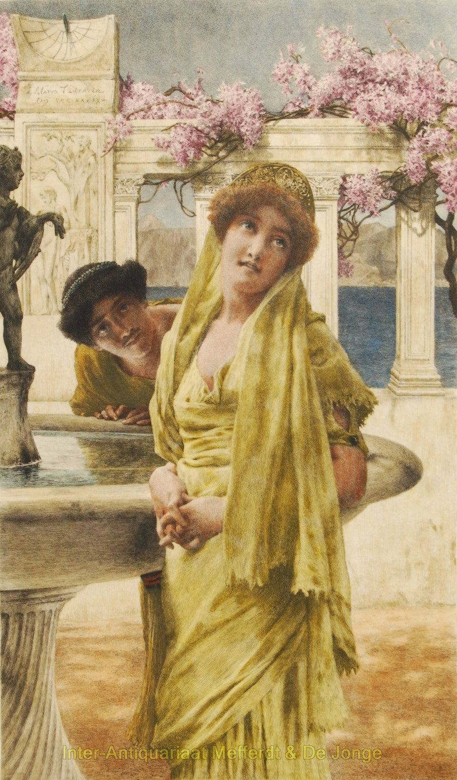 Difference of Opinion, A - Sir Lawrence Alma-Tadema