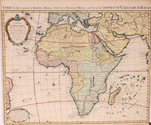 Afrika – Guillaume de L'Isle, Covens en Mortier, 1724