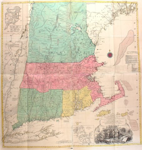 America, New England – Tobias Lotter, 1776