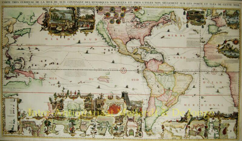 The Americas – Henri Châtelain, 1705-1720