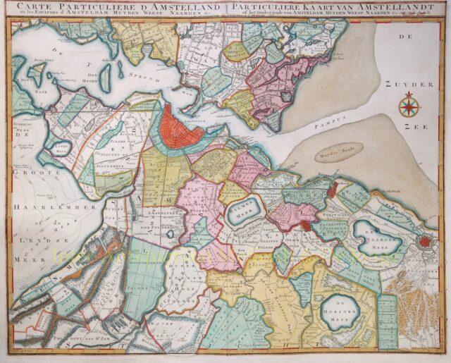 Amstelland kaart