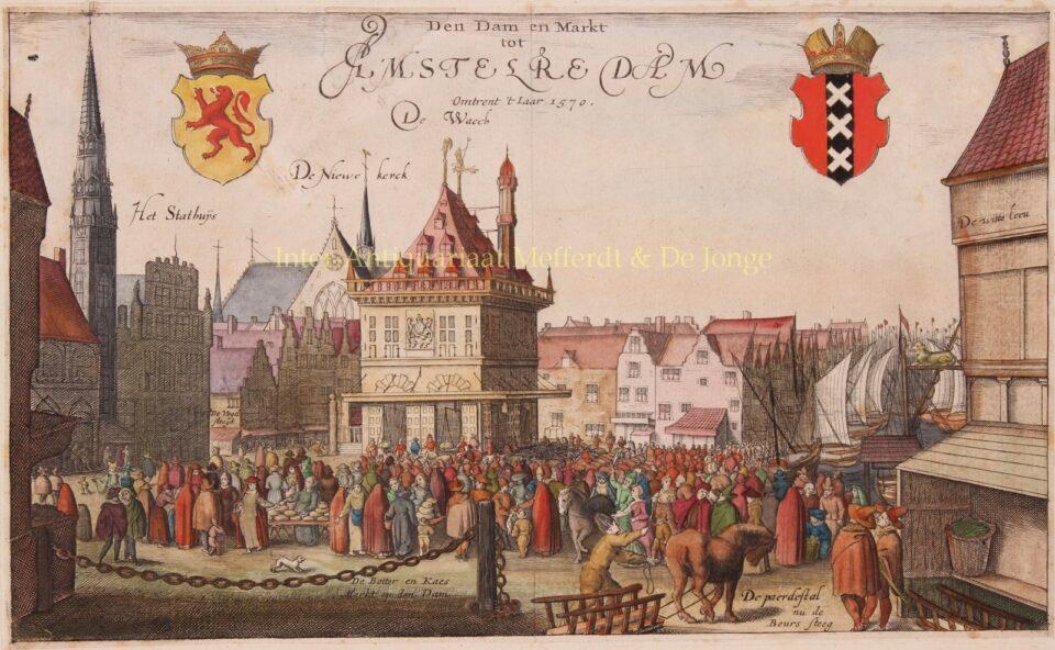 Amsterdam rond 1570
