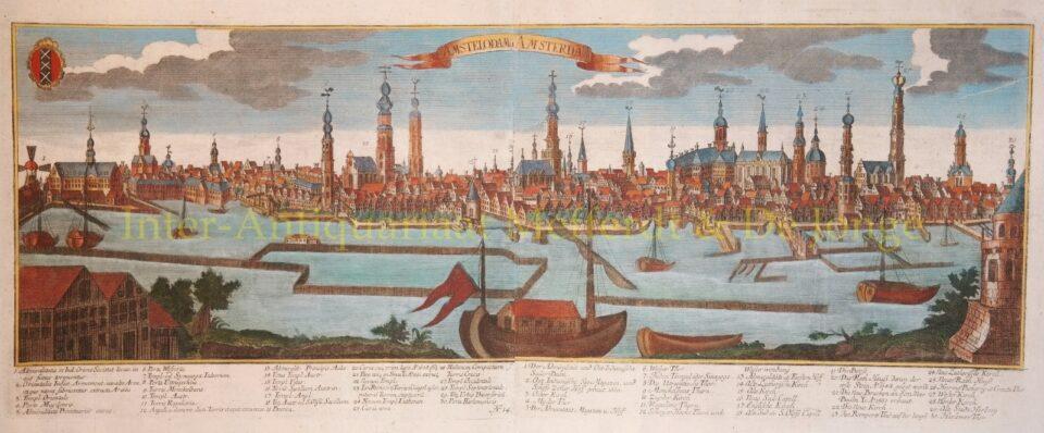 Amsterdam rond 1700 - Johann Christoph Haffner