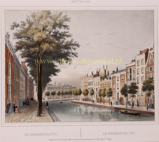 19e-eeuw Gouden Bocht Amsterdam