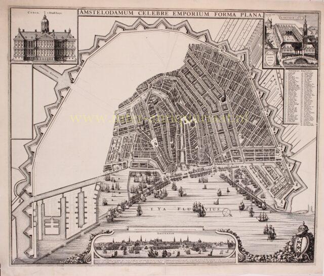 plan voor de Vierde Uitleg van Amsterdam