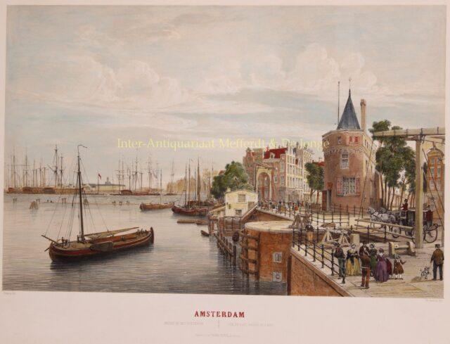 Oosterdok Amsterdam 19e-eeuw