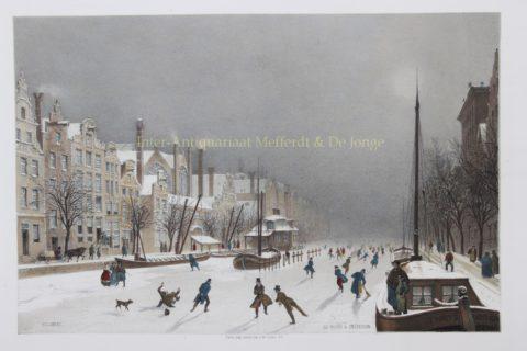 Amsterdam, Rokin – Carl Johan Billmark, ca. 1859