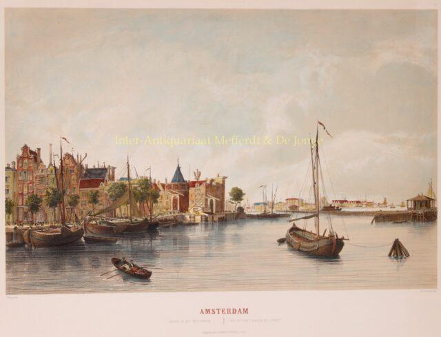 Westerdok Amsterdam 19e-eeuw