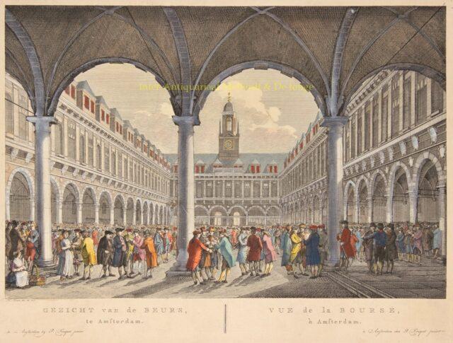 Aandelen beurs Amsterdam - Pierre Fouquet