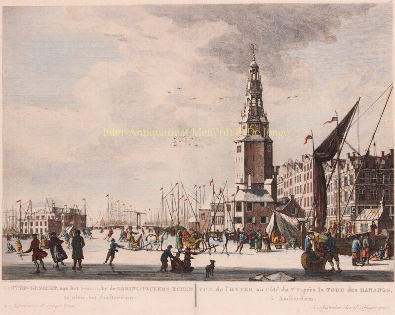 Amsterdam, Haringpakkerstoren – Pierre Fouquet naar Herman Schouten, 1769
