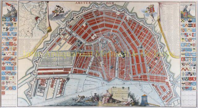 Amsterdam plattegrond - Hendrik de Leth