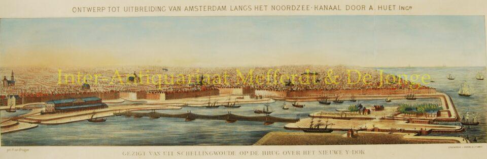 Ontwerp IJ-dok voor Amsterdam