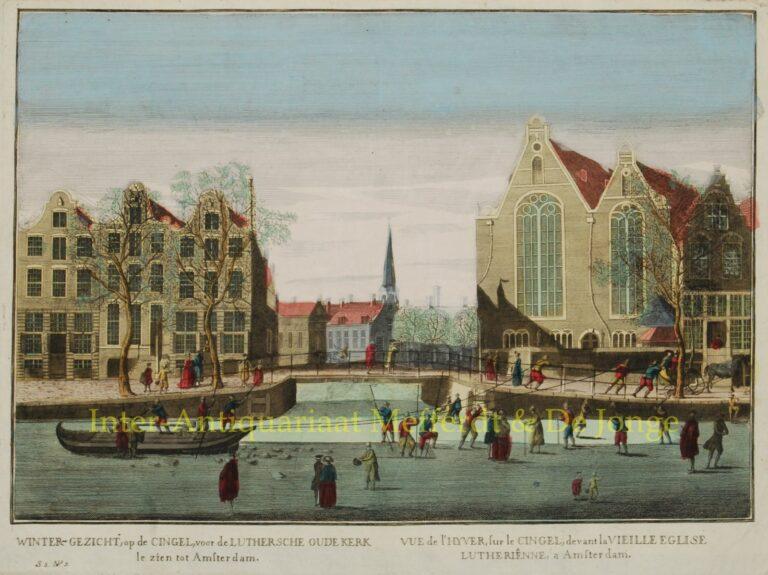 ijsgezicht 18de eeuw - Singel