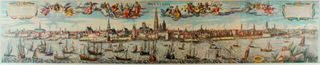 Antwerpen panorama - Jan Bapitst Vrients