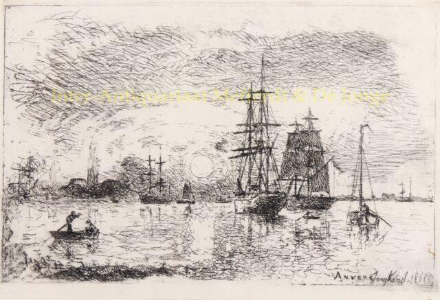 Antwerpen - Johan Barthold Jongkind