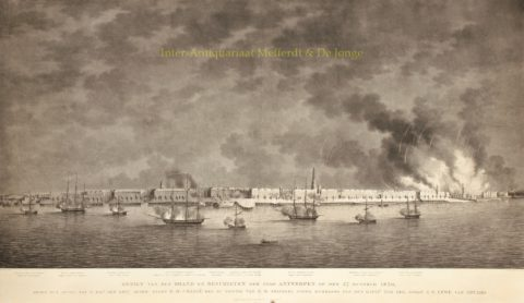 Belgische Opstand, Antwerpen onder vuur – 1830