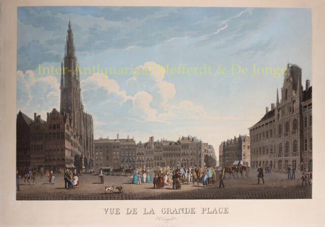 Grote Markt Antwerpen - J.L. van Bever