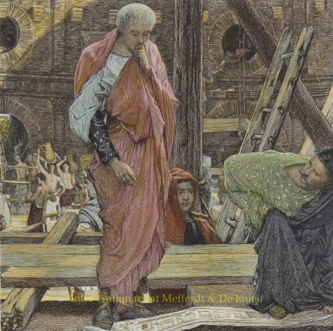Architecture in Ancient Rome – Lawrence Alma-Tadema, 1877