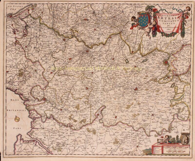 Artesië – Nicolaes Visscher, 1656-1677