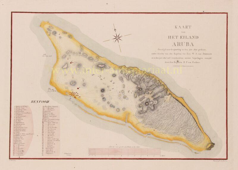 Aruba – Van Spengler + Van Raders, 1825