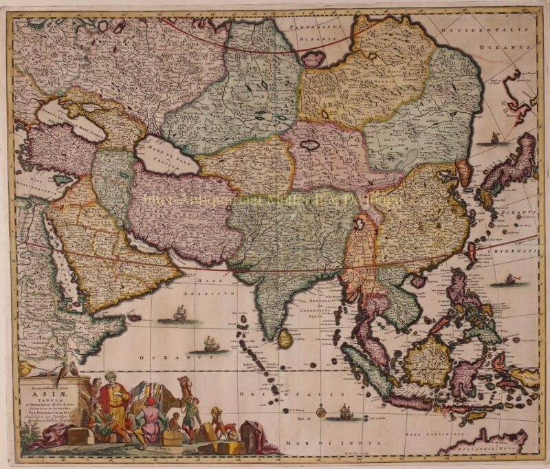 Azië – Frederick de Wit, ca. 1670