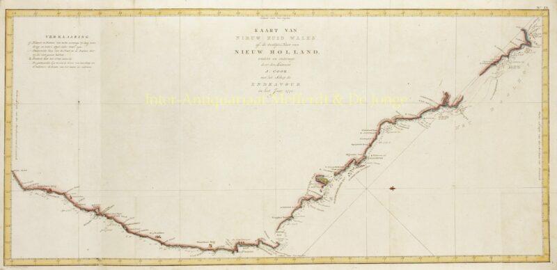 Australië, Nieuw-Zuid-Wales – Cornelis van Baarsel naar James Cook, ca. 1797