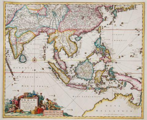South East Asia – Nicolaes Visscher, c. 1690
