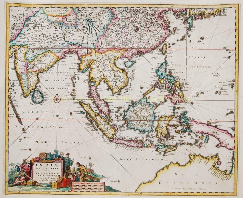 South East Asia - Nicolaes Visscher